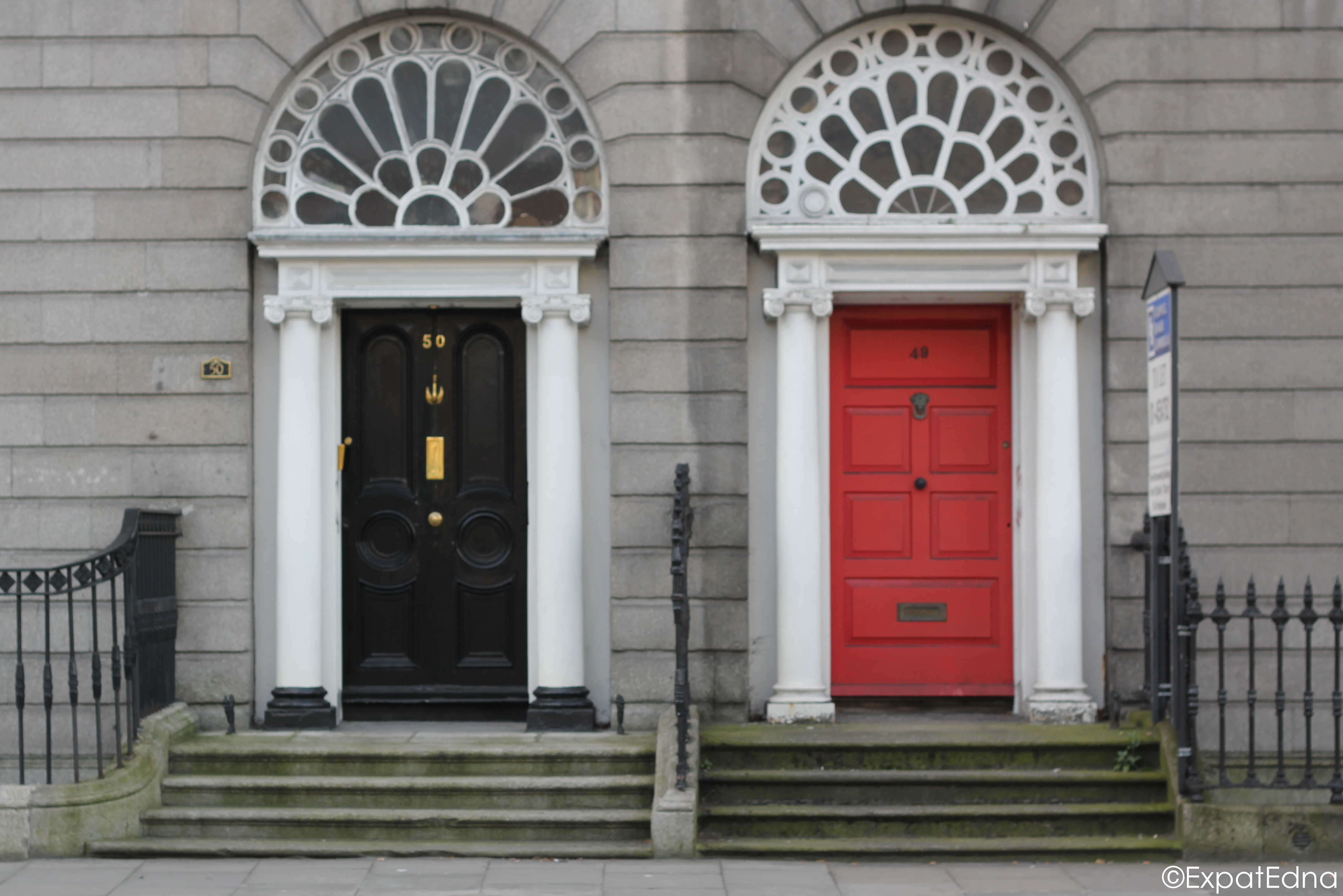 Sources ... & The Georgian Doors of Dublin - Expat Edna